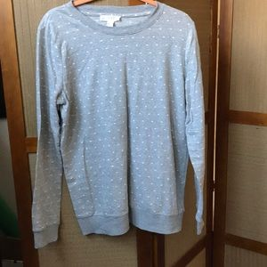 NEW FOREVER 21 SWEAT SHIRT TOP SIZE L